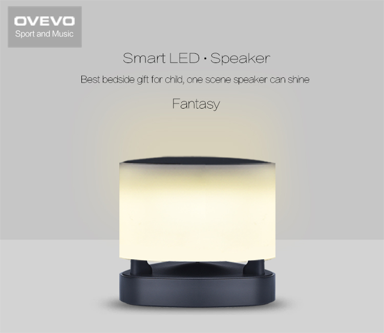 OVEVO Z1L Smart LED Lamp Wireless Bluetooth 4.0 Speaker