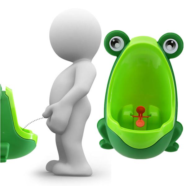 Фото Lovely Frog Children Kids Potty Removable Toilet Training Kids Urinal Early Learning Boys Pee Trainer Bathroom