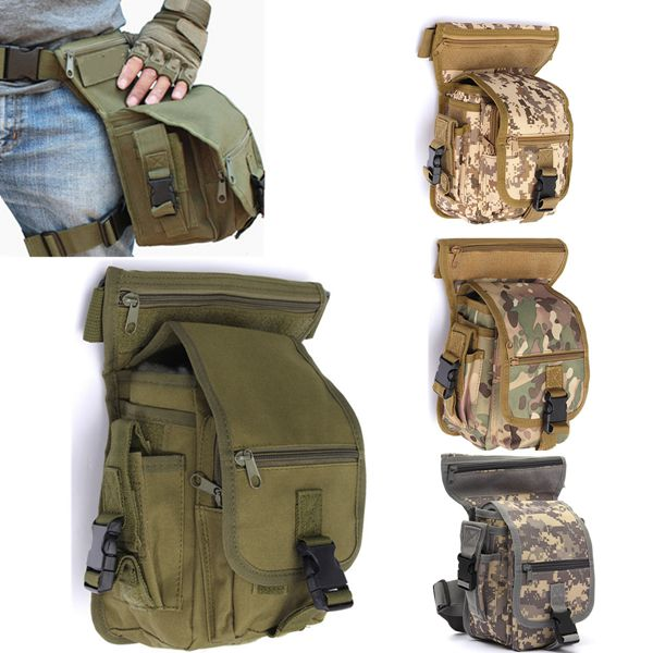 Fishing Bag Waist Bag Fishing Tackle Bag Tactical Military Tactical Belt Pouch Bag
