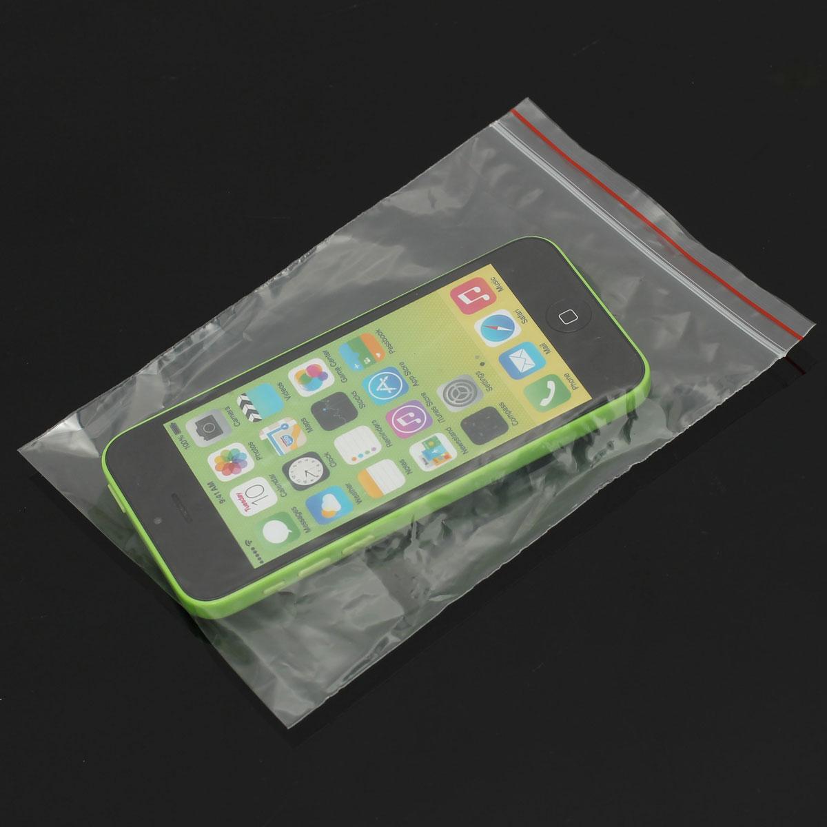 Borse Di Plastica Di Moda : Pcs borse di serratura cerniera chiare trasparenti