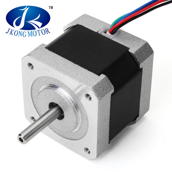 JKM Nema 17 0.9 Degree 42 Two Phase Hybrid Stepper Motor 40mm 1.68A For CNC Router 45% discount three phase high rpm electrical motor stepper motor 130mm flange holding torque 20 n m 4 a step angle 1 2 degree