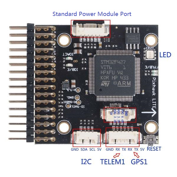 PX4 Pixhawk Lite V2.4.6 32Bits Open Source Flight Controller for QAV250 Multicopter