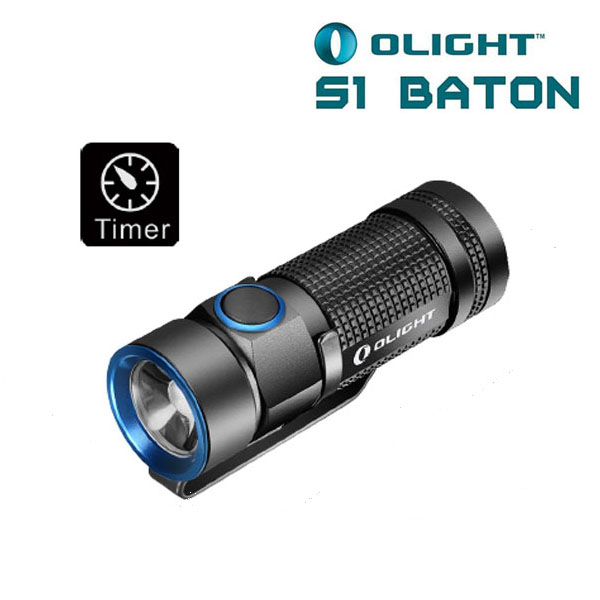 Olight S1 BATON CREE XM-L2 500LM Mini EDC LED Flashlight 4000 lumens 3 x cree xm l l2 diving led flashlight torch lamp light