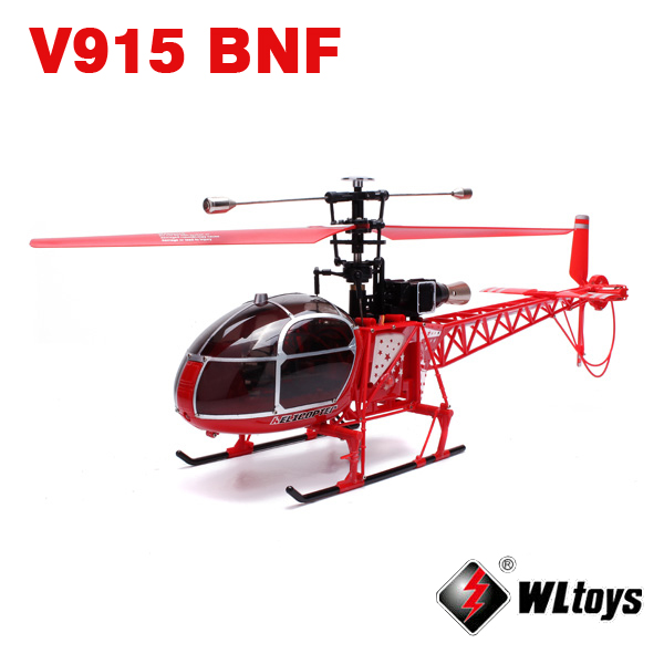 WLtoys V915 2.4G 4CH Scale Lama RC Helicopter BNF