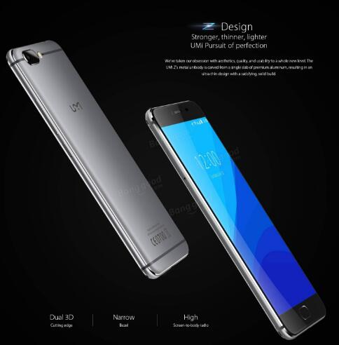 UMI Z  Dual 3D Edge 4GB RAM 32GB ROM New Product Discount $40 OFF
