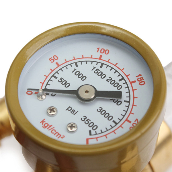 how to read mig gas gauges