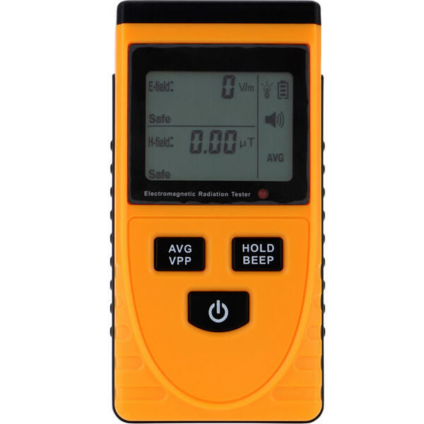 GM3120 Electromagnetic Radiation Detector Tester Phone PC Home Equitment Radiation Monitoring with LCD Display professional metal detector gf2 underground metal detector gold high sensitivity and lcd display gold finder