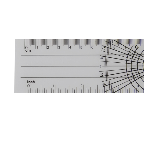 Professional Multi-Ruler 360 Degree Goniometer Angle Spinal Ruler