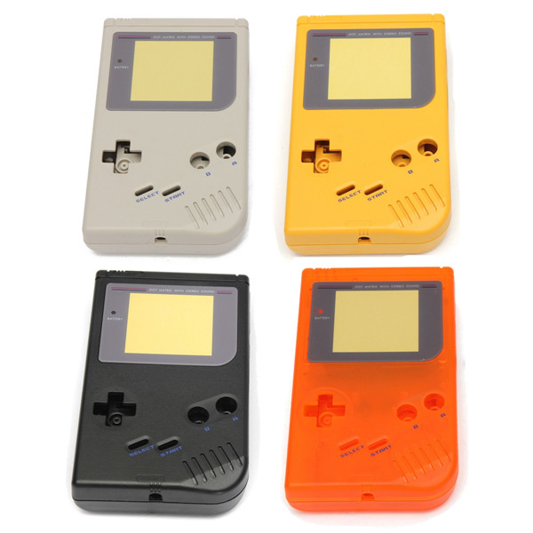 OEM Full Housing Shell for Nintendo Gameboy Classic GB DMG Console 10pcs for nintendo gameboy advance sp gba sp ags 101 highlit screen lcd oem backlit brighter