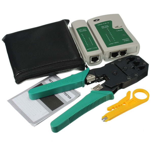 RJ45 RJ11 RJ12 CAT5 LAN Network Tool Kit Cable Tester Crimp Crimper Plier 1pc rj11 rj45 6p 8p ethernet cable crimping plier network clamp tool new free shipping