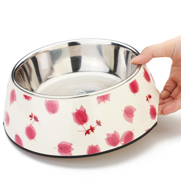 Pet Red Leaves Bowl