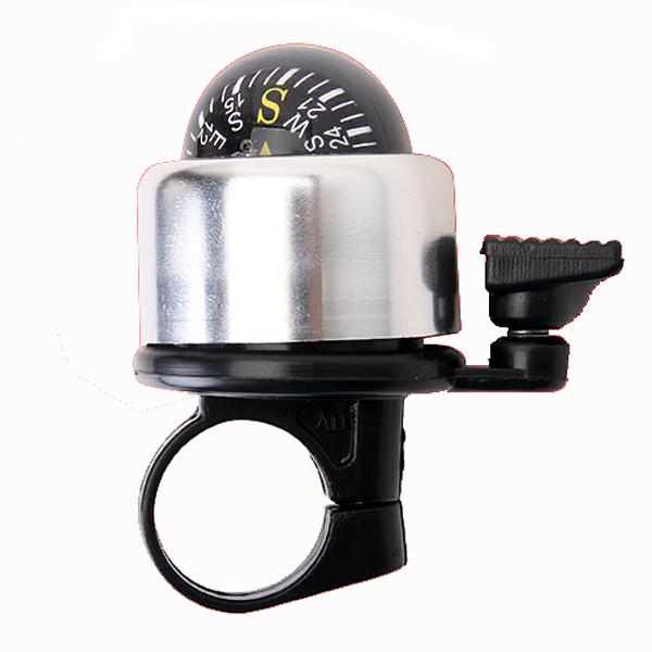 nueva campana de la bicicleta anillo de metal para la bici con el compás Descuento en Banggood