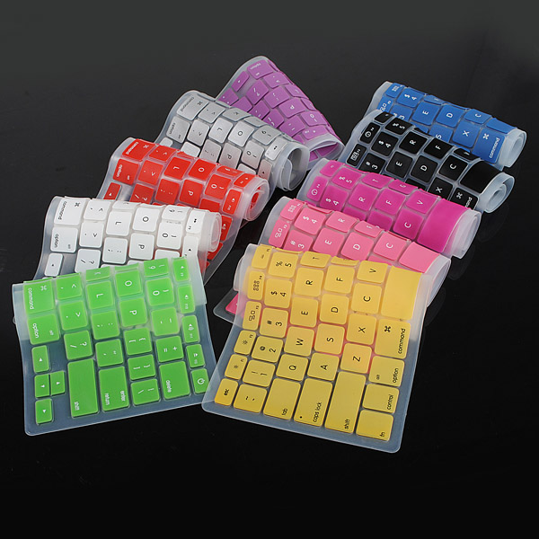 Silicone Ansi Layout Dust Water Proof Keyboard Cover for Mac Air 13