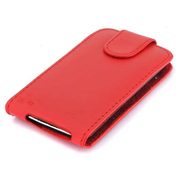 Leather Flip Case Cover for iPod Touch 4