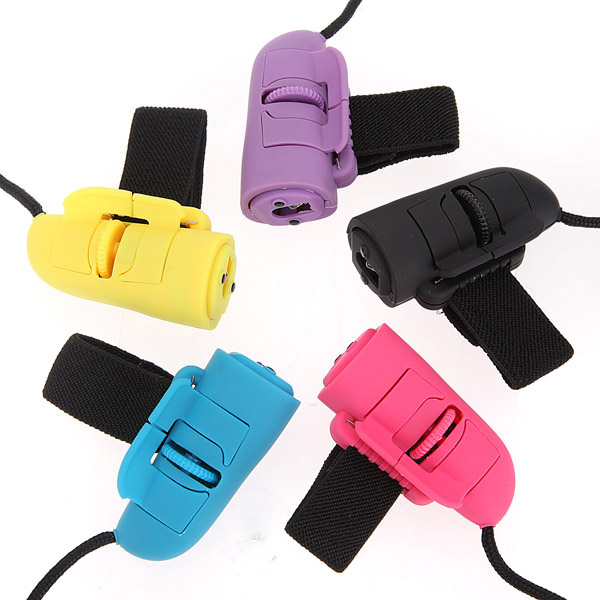 1200dpi Mini USB 3D Optical Finger Ring HandHeld Mouse For Laptop PC