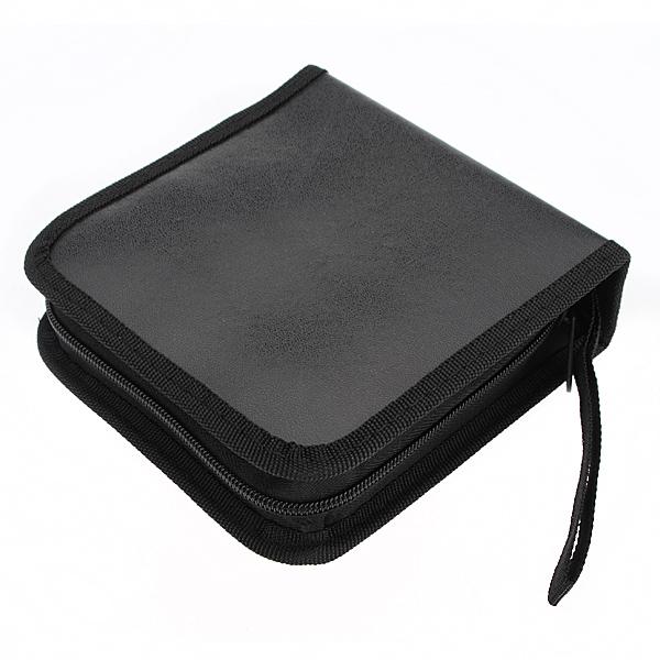 40 disc CD DVD Holder Disc Organizer Wallet Bag Album Black