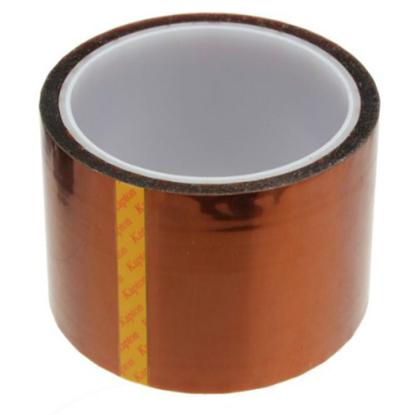 High Temperature Heat Resistant Kapton Tape Polyimide 50MM x 30M 55mm x 33m 100ft kapton tape high temperature heat resistant polyimide fast ship
