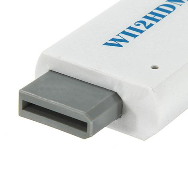 Wii to HDMI HDTV Video Converter Adapter HD 480P WII2HDMI 3.5mm Audio