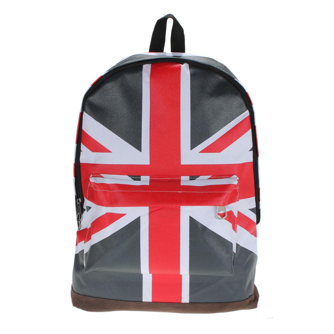 Canvas UK England Flag BackPack Schoolbag