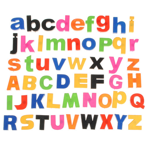 Magnetic Capital Lowercase Alphabet Educational Toy