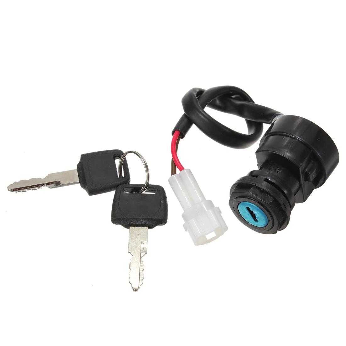 01-05 Yamaha Raptor YFM660 Motorcycle Ignition Key Switch