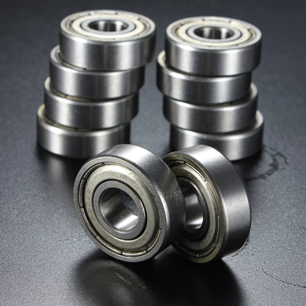 10Pcs 10x26x8mm Metal Sealed Deep Groove Ball Bearing 6000-2Z 6000-ZZ от Banggood INT