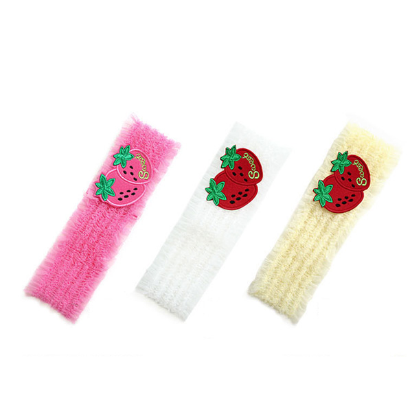 Double Strawberry Baby Girls Headwear Children's Hair Band