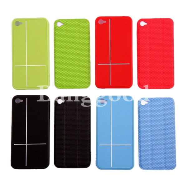iPhone 4 4S Magnetic Adsorption Smart Cover Multi-function Stand Case