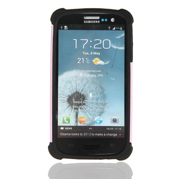 Rugged Combo HRubber ybrid Hard Case For Samsung Galaxy i9300