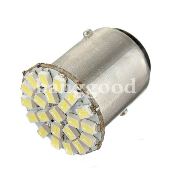 1156 BA15S 22SMD Car LED Backup Reverse Tail Light Bulbs Bright White
