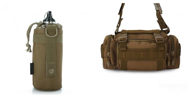 Water Bottle Pouch 500ML Kettle Bag Tactical Bag Accessories
