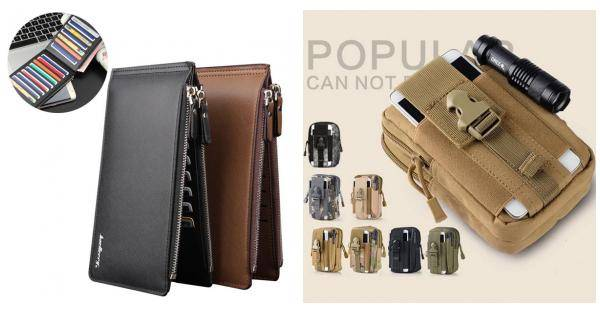 Men PU Leather Credit Card Holder Billfold Wallet Purse Checkbook Clutch danjue genuine leather men wallets long coin purses big capacity card holder cowhide day clutch phone money bag