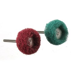 3.17mm Shank Thickened Scouring Pad Wheel Fiber Polishing Buffing Wheel