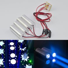 450nm 100mW Thick Beam Blue Laser Module Projector For Bar Stage Exhibition Stand Lighting