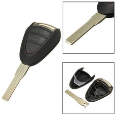 Car Remote Locking Fob Key Case Shell Blade For Porsche Cayenne 996