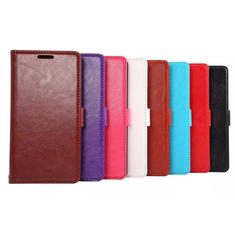 Flip Pu Leather Holder Card Wallet Stand Case Cover For LG G4