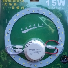 LED 15W Round Ceiling Lamp Chip 220V With Transformer And Magnet
