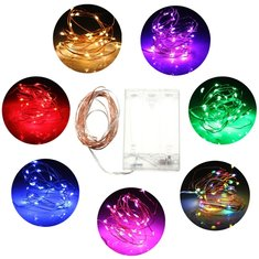 3M 30 LED Battery Powered Fairy String Light Wedding Party Xmas Tree Decoration