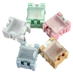 1Pc Mini ESD SMD Chip Resistor Capacitor Component Box 5 Color