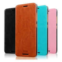 MOFI Pu Leather Case Slim Flip Cover Case For HTC One M9