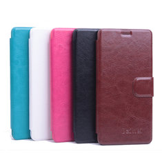 Flip Left And Right Stand PU Leather Case For FLY IQ4516