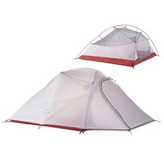 Naturehike Travel Camping Tent 3 Person Double Layer Waterproof Hiking Tent Outdoor Equipment