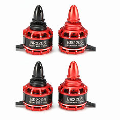 4X Racerstar Racing Edition 2206 BR2206 2600KV 2-4S Brushless Motor CW/CCW For 200 220 QAV250 300