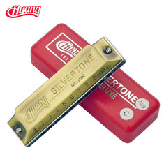 HUANG 103-1 10 Hole Thickened Upgrade Blues Harmonica Key of C