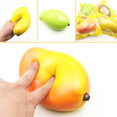 Giggle Bread Squishy Mango 17cm Slow Rising Original Packaging Fruit Squishy Collection Decor