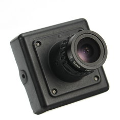 Micro 1/3 CCD Effio-V 800TVL Mini Camera 2.8mm 3.6mm Lens with OSD Button 30mm*30mm For RC Racer