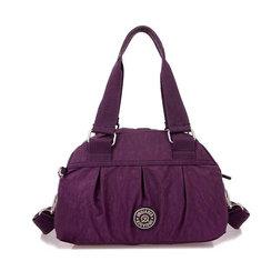 Women Nylon Waterproof Tote Bags Casual Lightweight Outdoor Travel Shoulder Bags Crossbody Bags