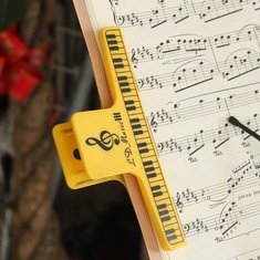 Thicken Binder Clip Piano Sheet Music Clip Spring Clip for Piano Violin Guitar Player