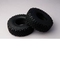 TFL 1/10 RC Car Spare Parts 1.9x4.6 Simulation Tire Leather A Model 2PCS C1401-37