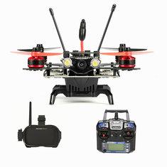 Eachine Assassin 180 FPV w/Eachine VR-007 HD Goggles I6 Transmitter Built In OSD GPS NAZE32 RTF